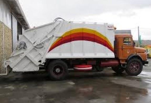 کامیون حمل زباله