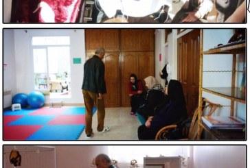 بازدید از مرکز توانبخشی شمس