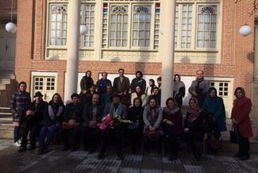 سخنرانی پرفسور صدریا خانه هنرمندان تبریز زیبایی شناسی