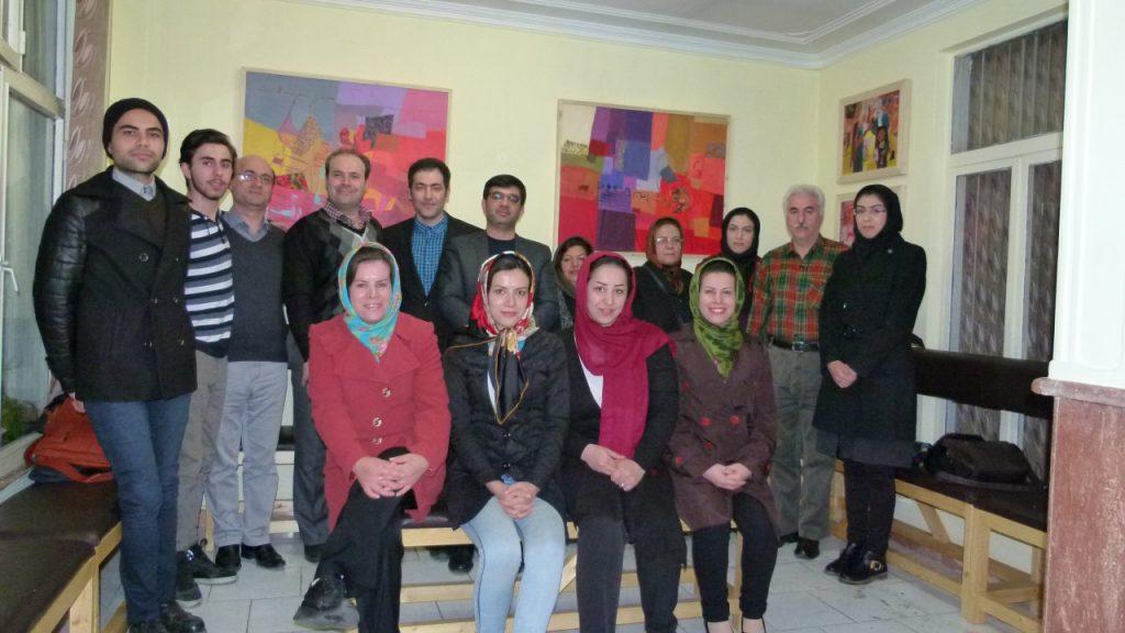 گفتمان اساتید محمدنژاد،حقیقی و فتحی در فرهنگسرای خانواده قاصدک