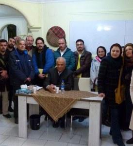 دومین دورهمى هنرمندان معاصر تبریز، پروفسور مجتبى صدریا،٢١بهمن