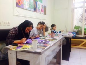 ثبت نام کلاسهای طراحی و نقاشی